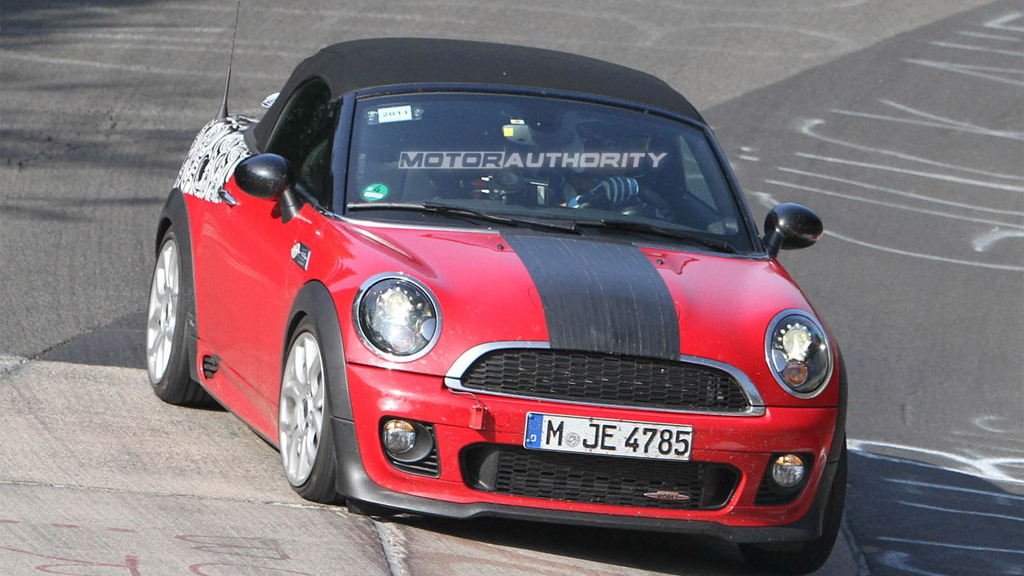 2012 MINI John Cooper Works Roadster间谍照片