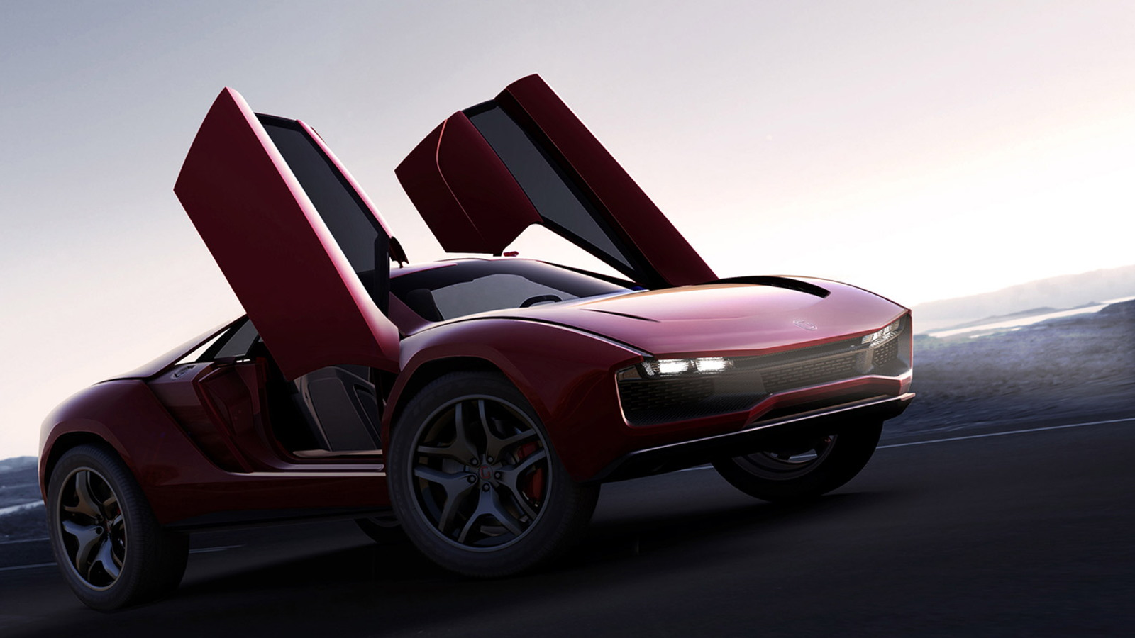 Italdesign Giugiaro Parcour概念车
