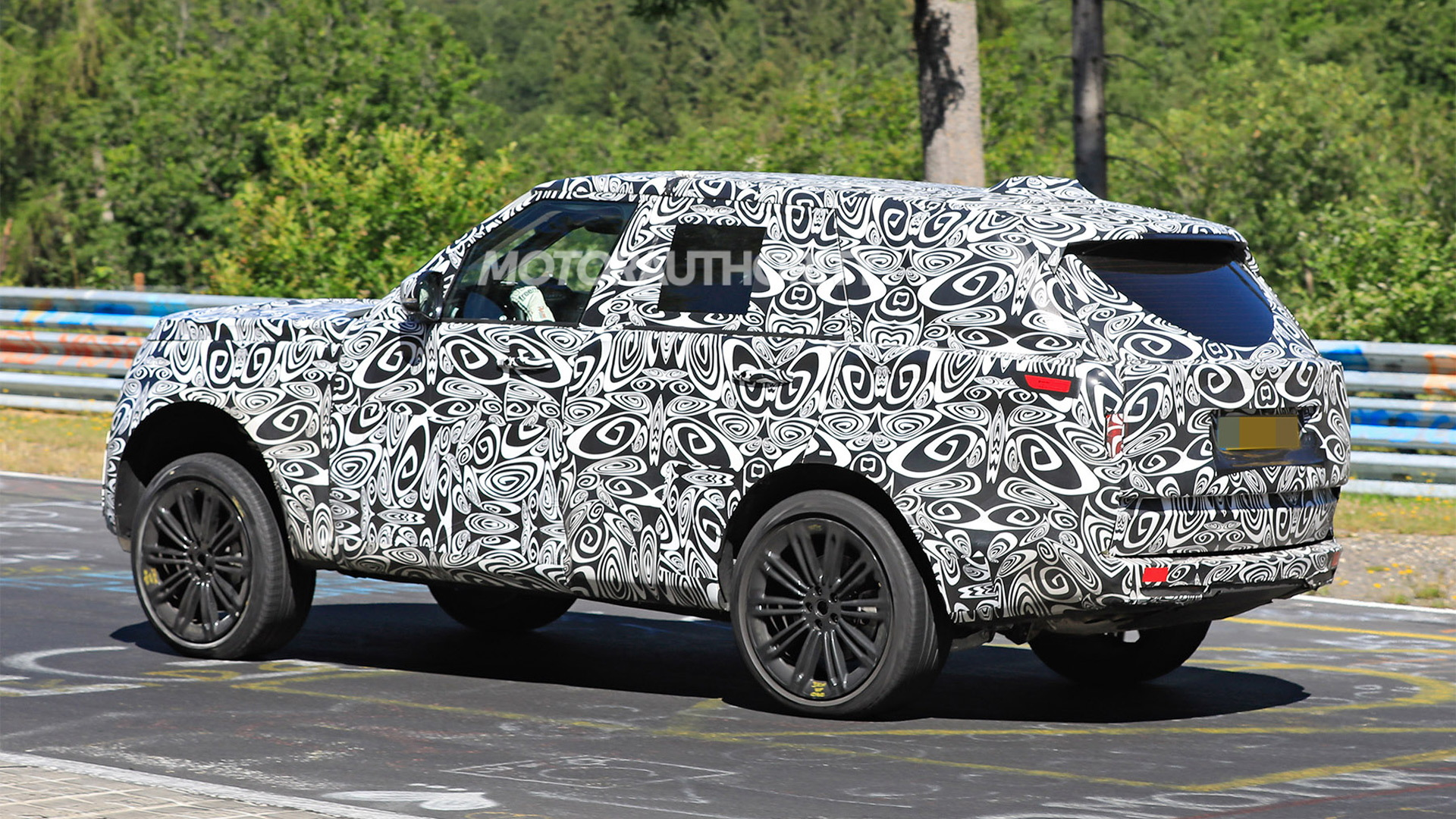 2022 路虎 Range Rover spy shots - Photo credit: S. Baldauf/SB-Medien