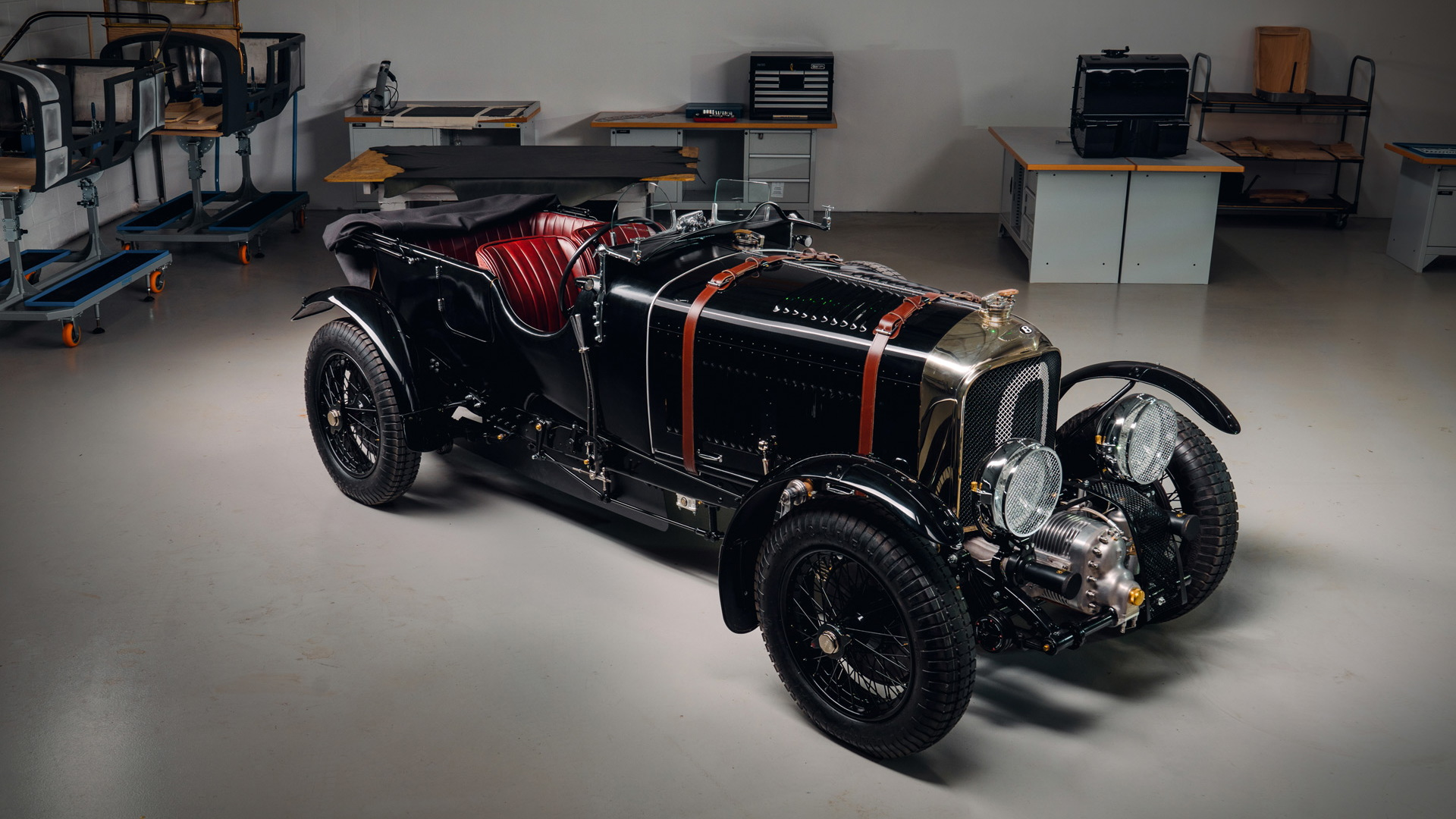 1929年Bentley Blower Continuation Series原型