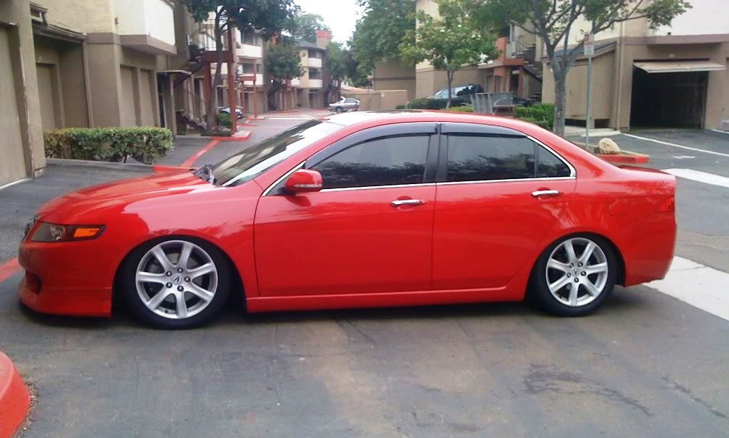 Acura TSX To How To Install Lowering Springs Acurazine - Acura tsx lowering springs