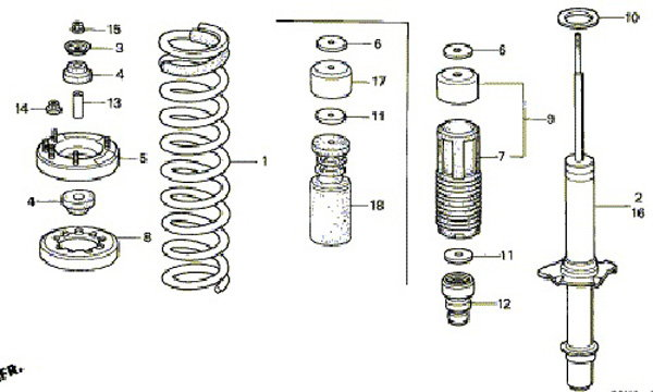 Acura Tl 2004 To 2008 How To Install Lowering Springs