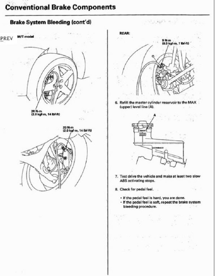 acura tsx 2004 to 2014 how to replace brake fluid acurazine. Black Bedroom Furniture Sets. Home Design Ideas