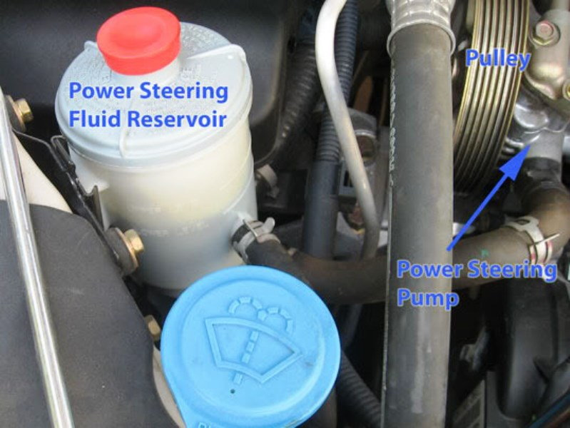 how to change your power steering fluid