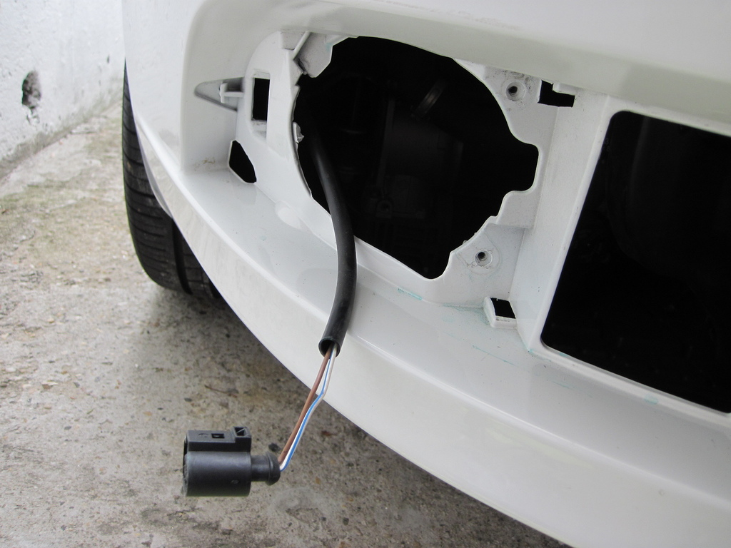Audi A6 C5 C6 How To Install Hid Fog Lights Audiworld 2011 Remove The Grille And