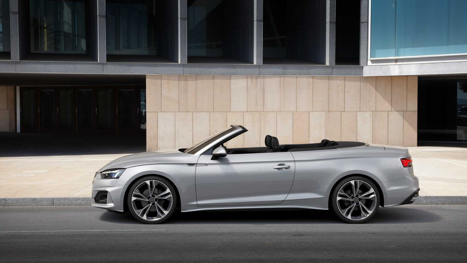 audi takes the roof off its 2020 a5 cabriolet