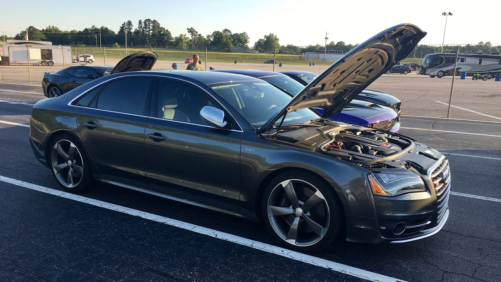 S8 at the Drags