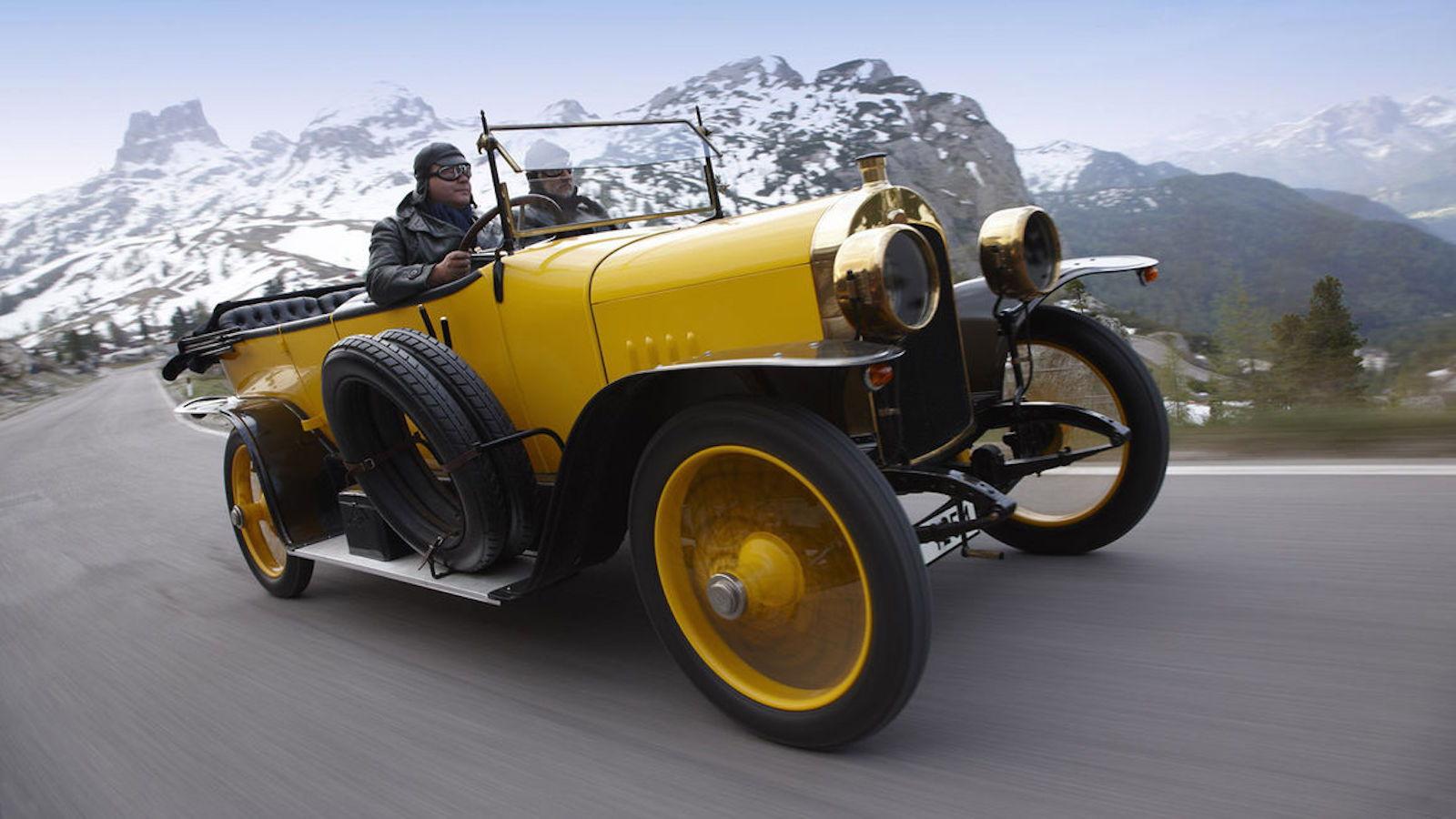 1914 Audi 14/35 Type C