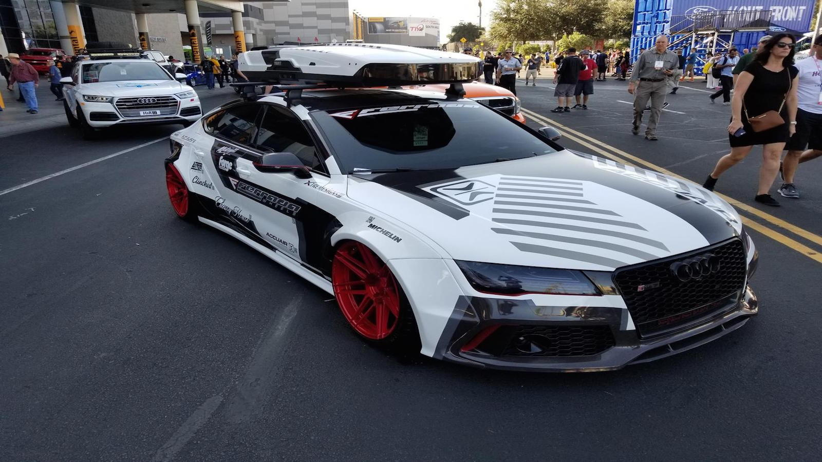 700hp Audi RS7 SEMA Build