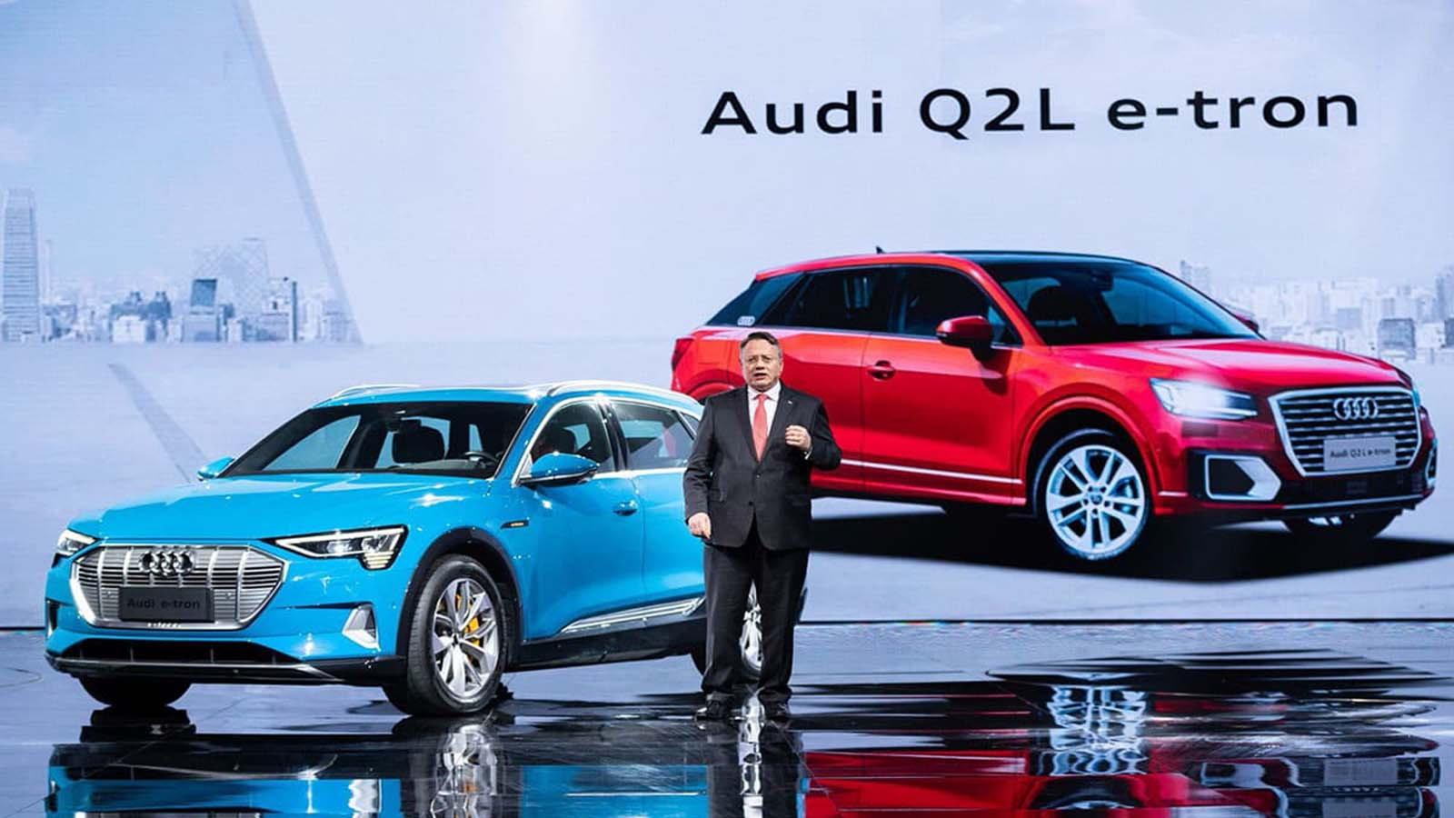 Q2 L e-tron and AI:ME Concept Hit Shanghai
