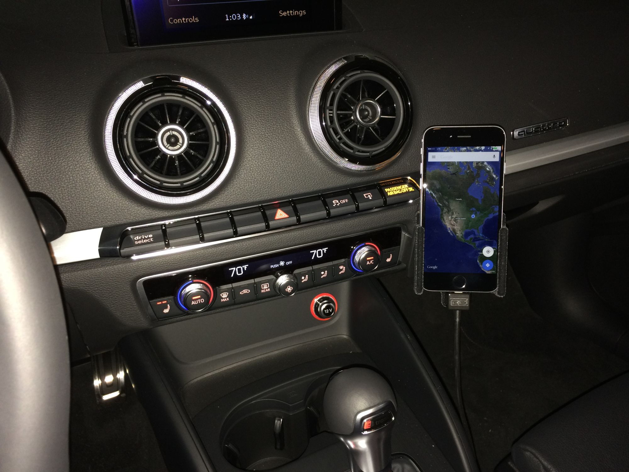 audi a3 how to use siri while iphone is connected to the mmi audiworld. Black Bedroom Furniture Sets. Home Design Ideas