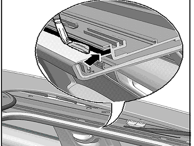 how to manually close a sunroof