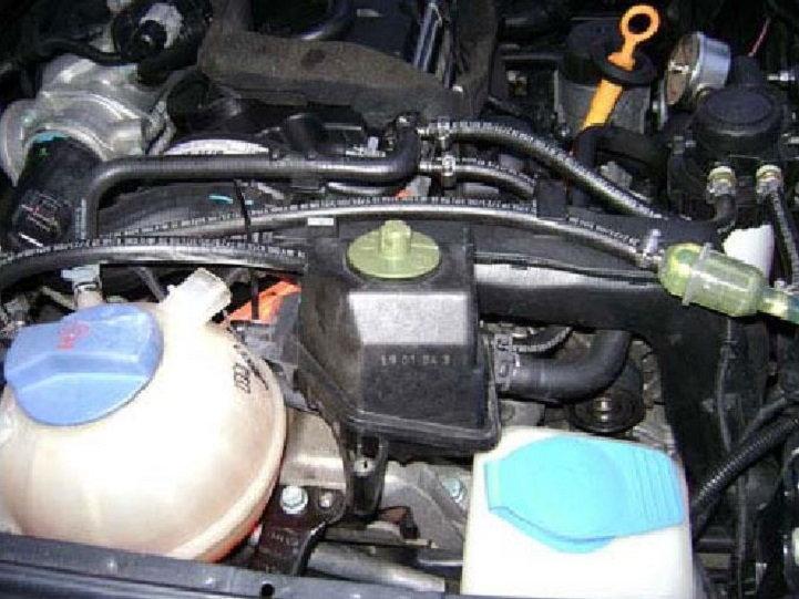 Audi A3 Power Steering Fluid Reservoir Location