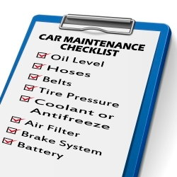 The three p's of car care, maintenance