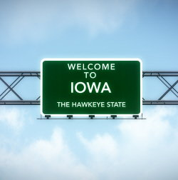 Best States for Drivers Iowa