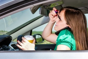 Distracted Driving on the Rise, Find the Safest Used Cars - Blog