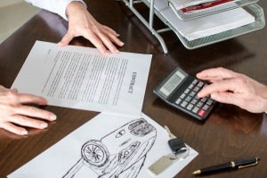 lease contract, auto loan contract