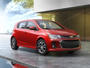 initial quality study 2017 Chevy Sonic