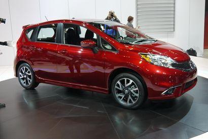 2015 Nissan Versa Note S 1.6L