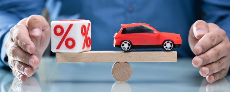 Bad Credit Interest Rates for Auto Loans