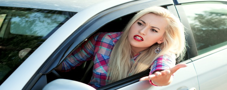 aggressive driving, road rage