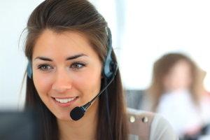 call center employee, business development center