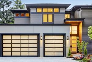 A garage.