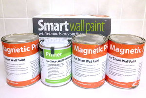 smart wall paint packaging