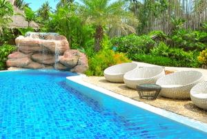 A pool.