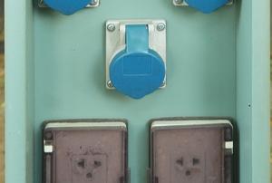 rv power plug with multiple sockets