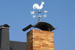 Wind indicator on roof