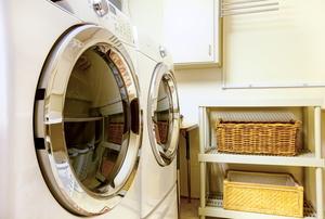 A washing machine.