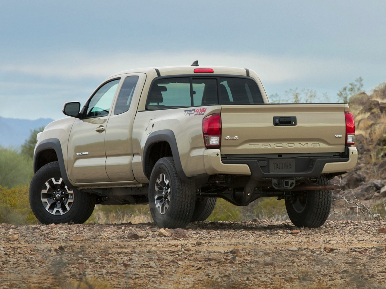2016 Toyota Tacoma Styles & Features Highlights