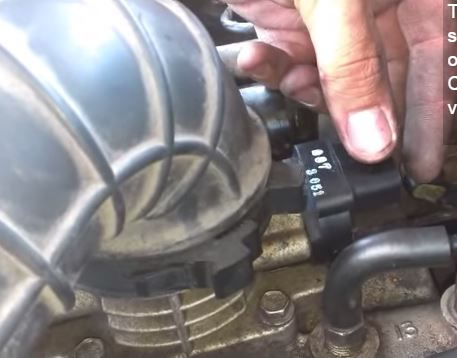 Figure A on Jeep Throttle Position Sensor Replacement