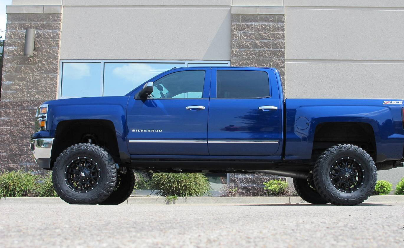 Chevrolet Silverado 2007-2013 GMT900 Lift and Leveling ...