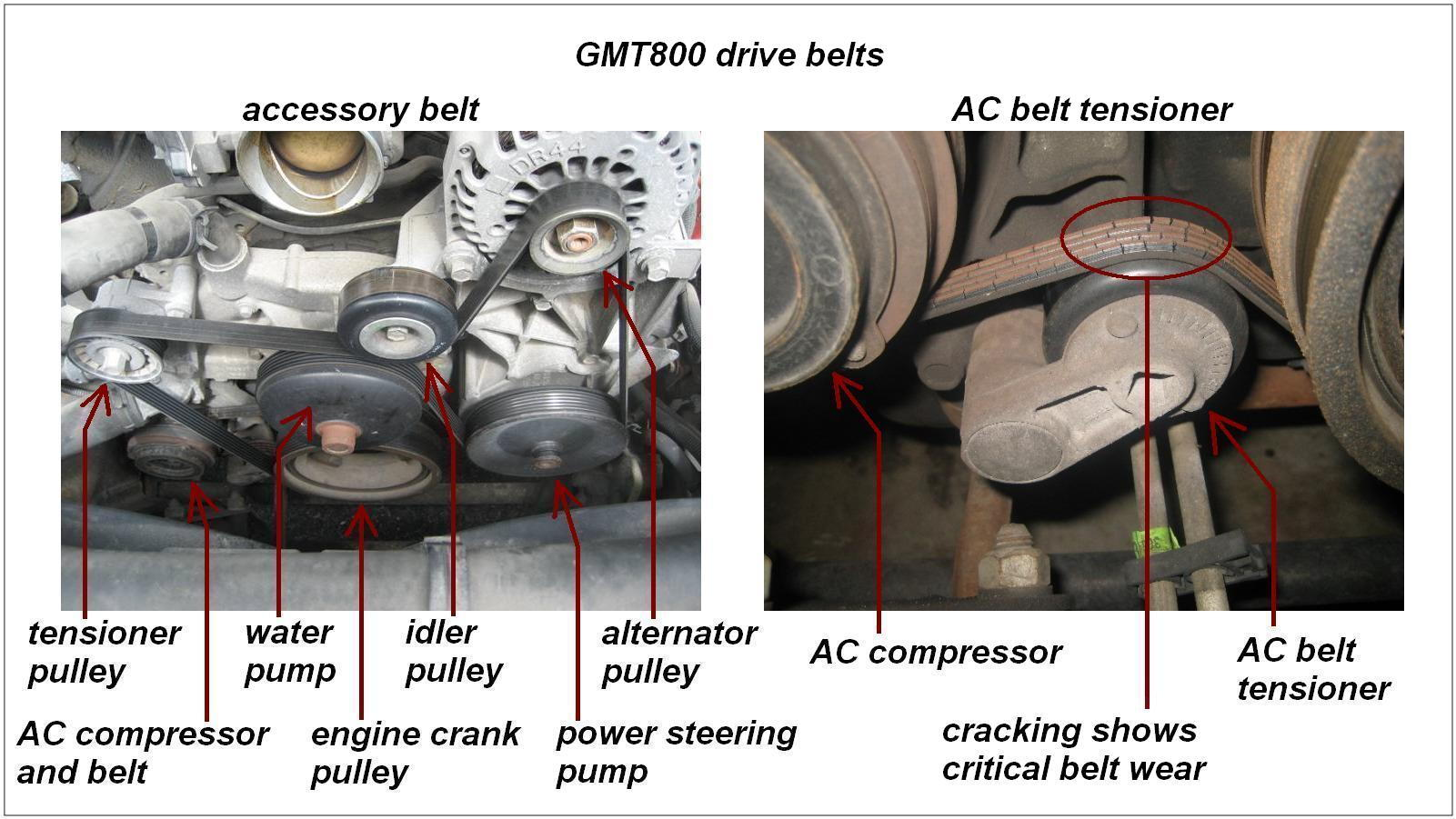 Gmt Drivebelts on 2007 Chevrolet Tahoe Power Steering Diagram