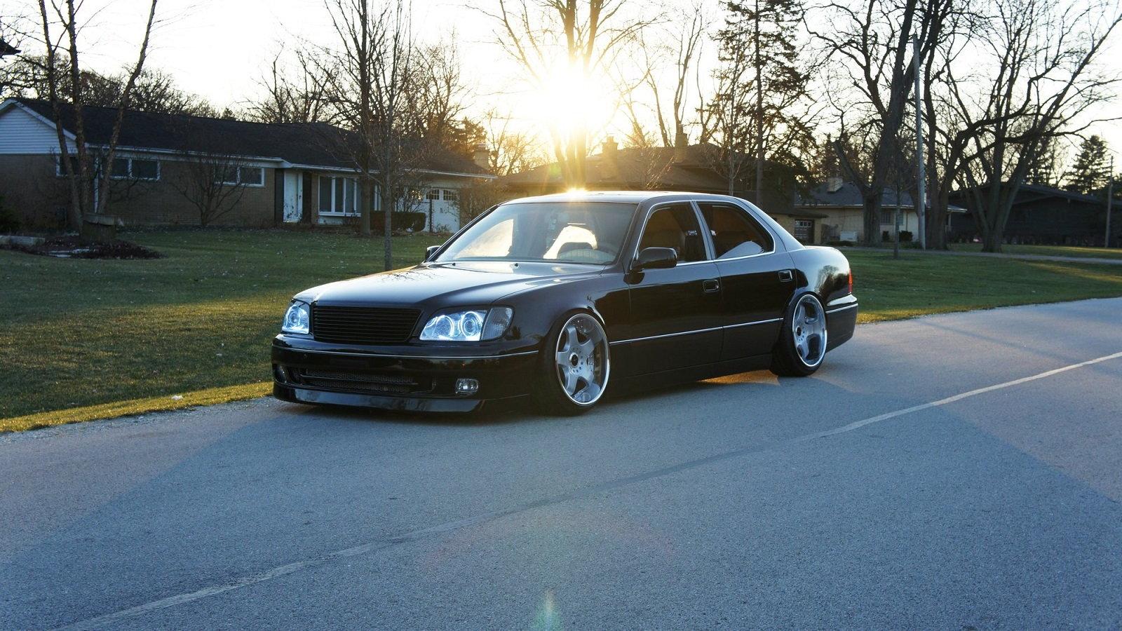 Build A Lexus >> Lexus Ls400 Build Looks Bad In Black Clublexus