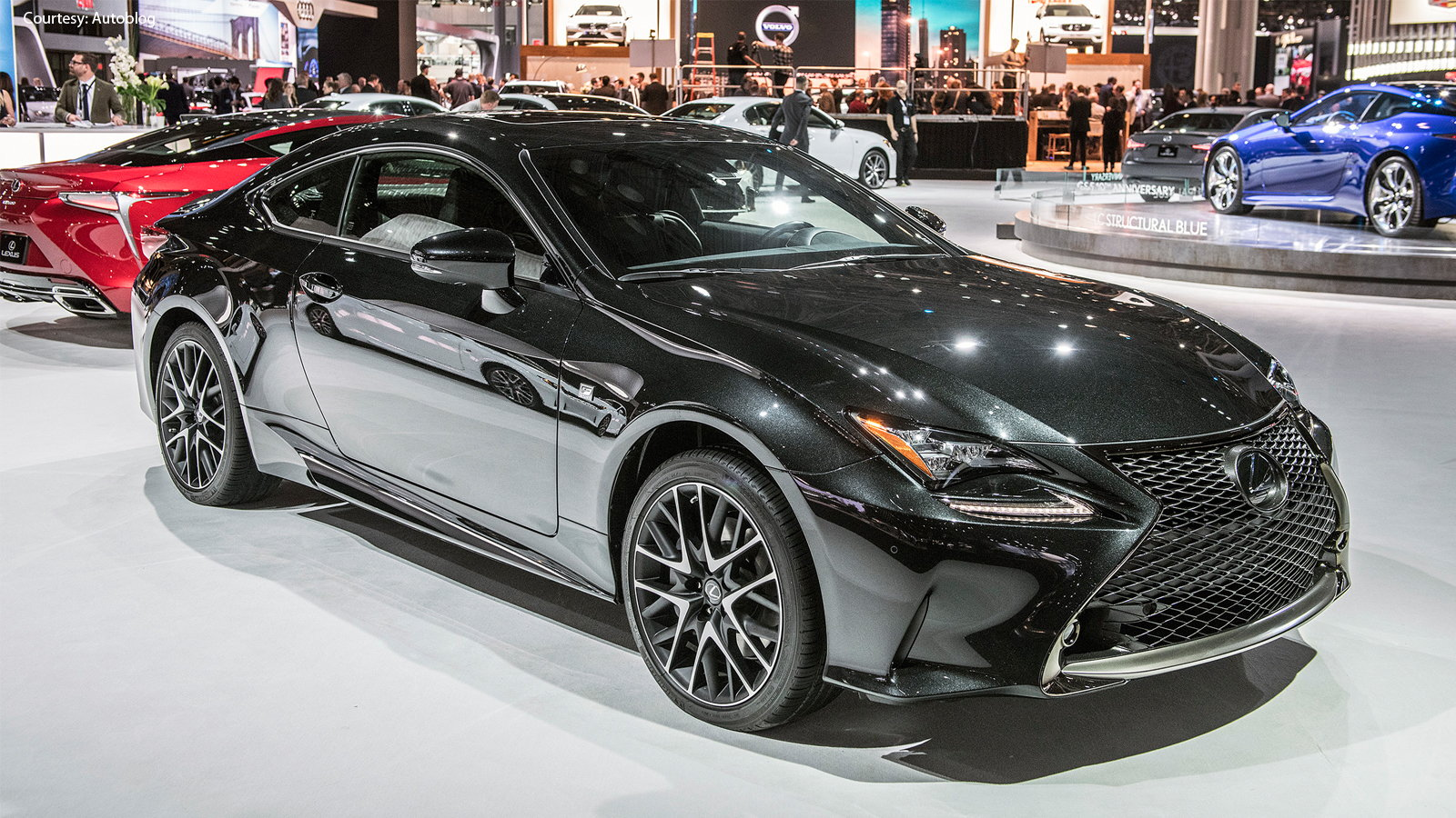 Black Line RC F Sport Limited to Just 650