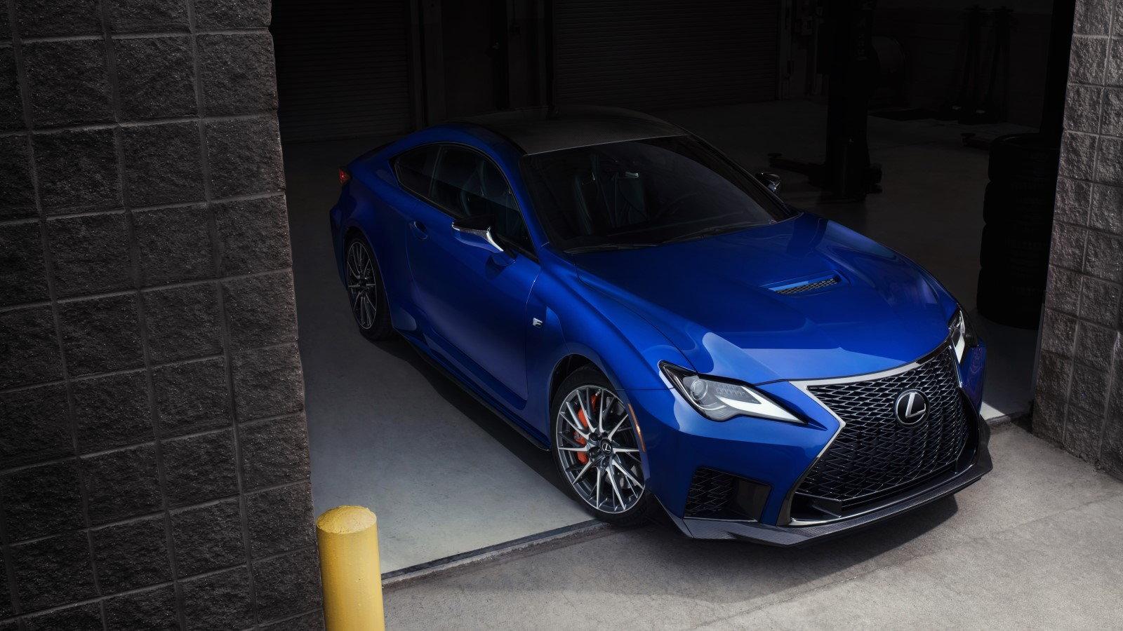 Updated 2020 Lexus RC F Looks Fantastic