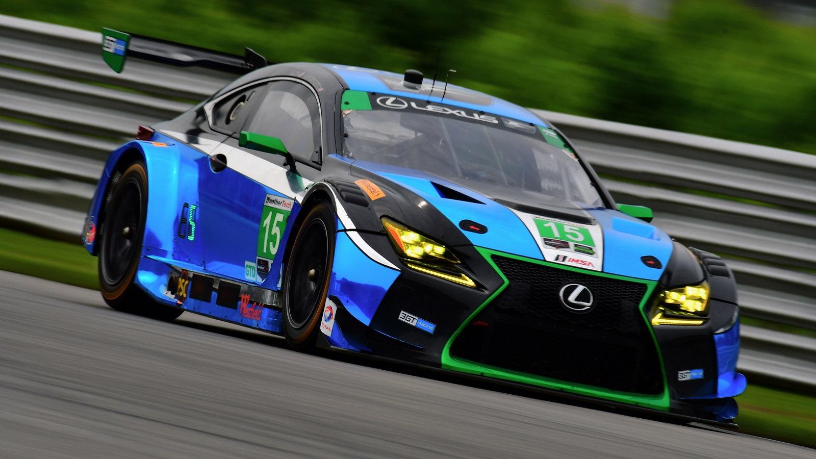 Lexus RC F GT3 Headed to Blancpain GT Series