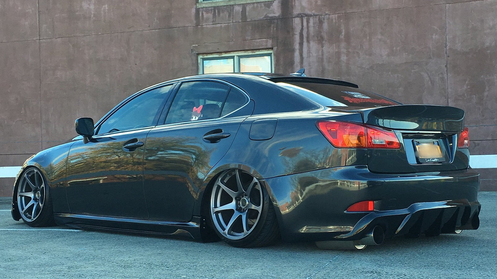 Bagged Lexus IS Build Is a Real Ground Scraper