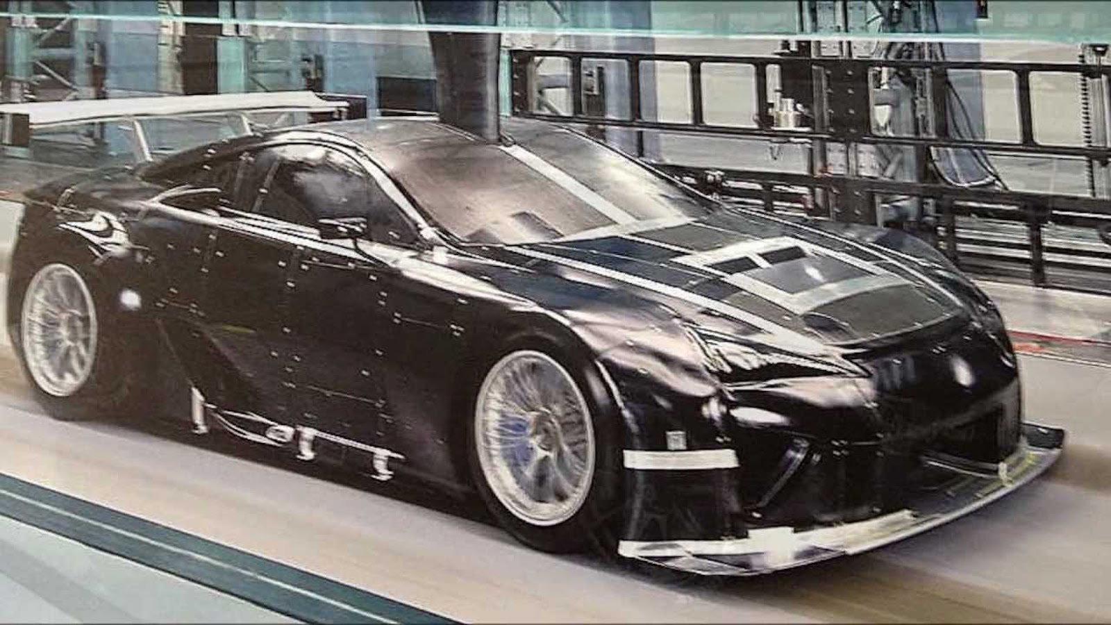 Lexus' Coolest Race Cars