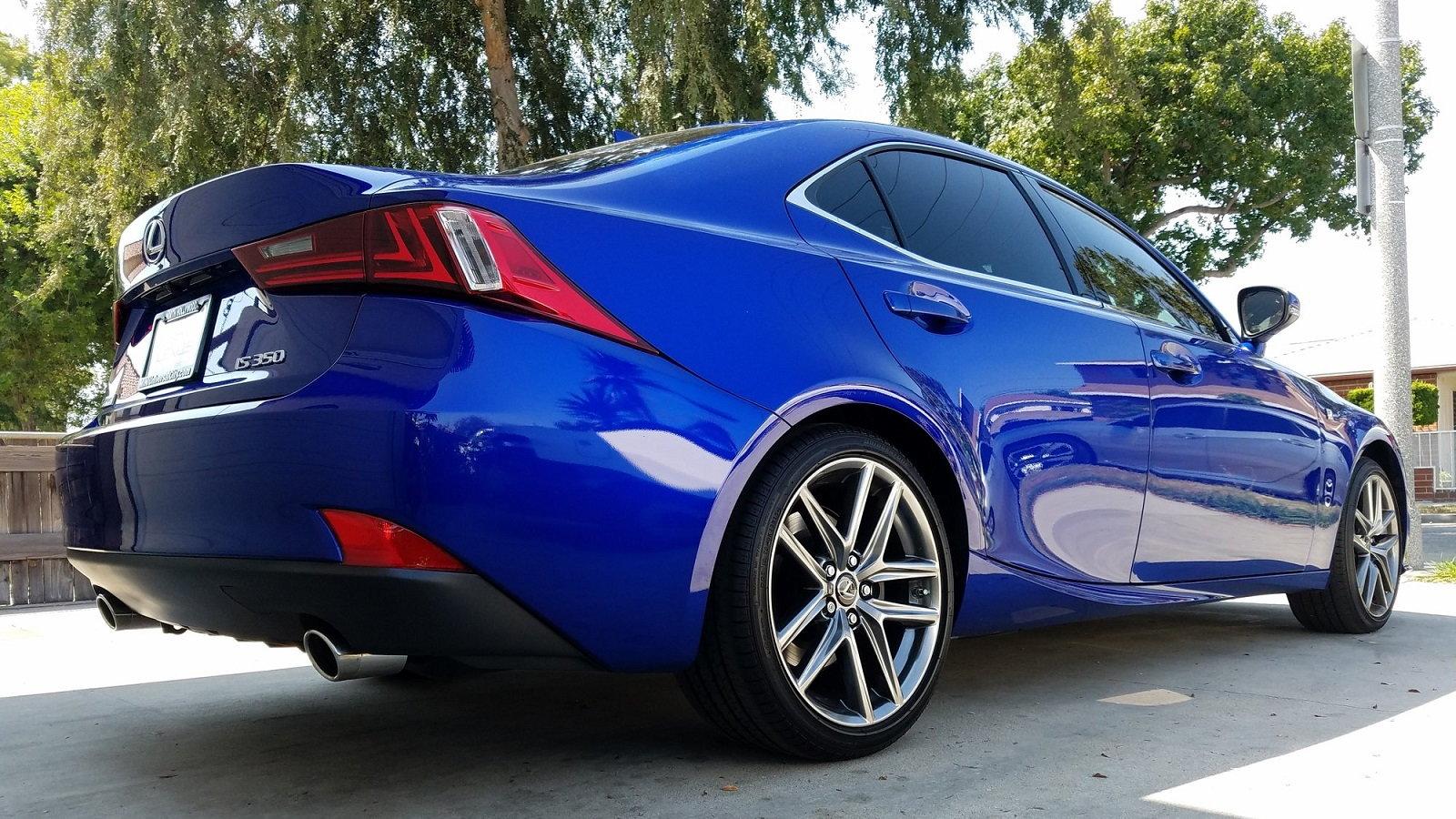 Stunning Bagged Lexus IS Undergoes Shocking Transformation