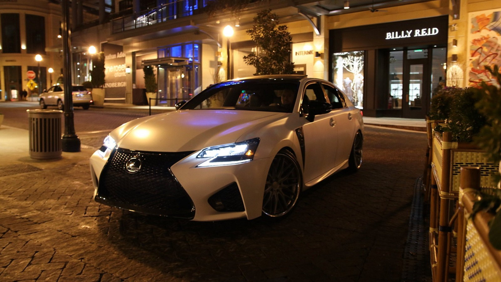 Matte White Lexus GS F Is a Real Beauty Queen