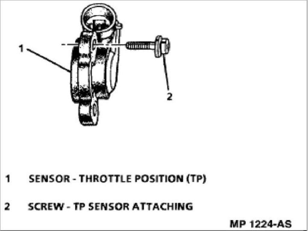 C5 Corvette How to Replace Throttle Position Sensor
