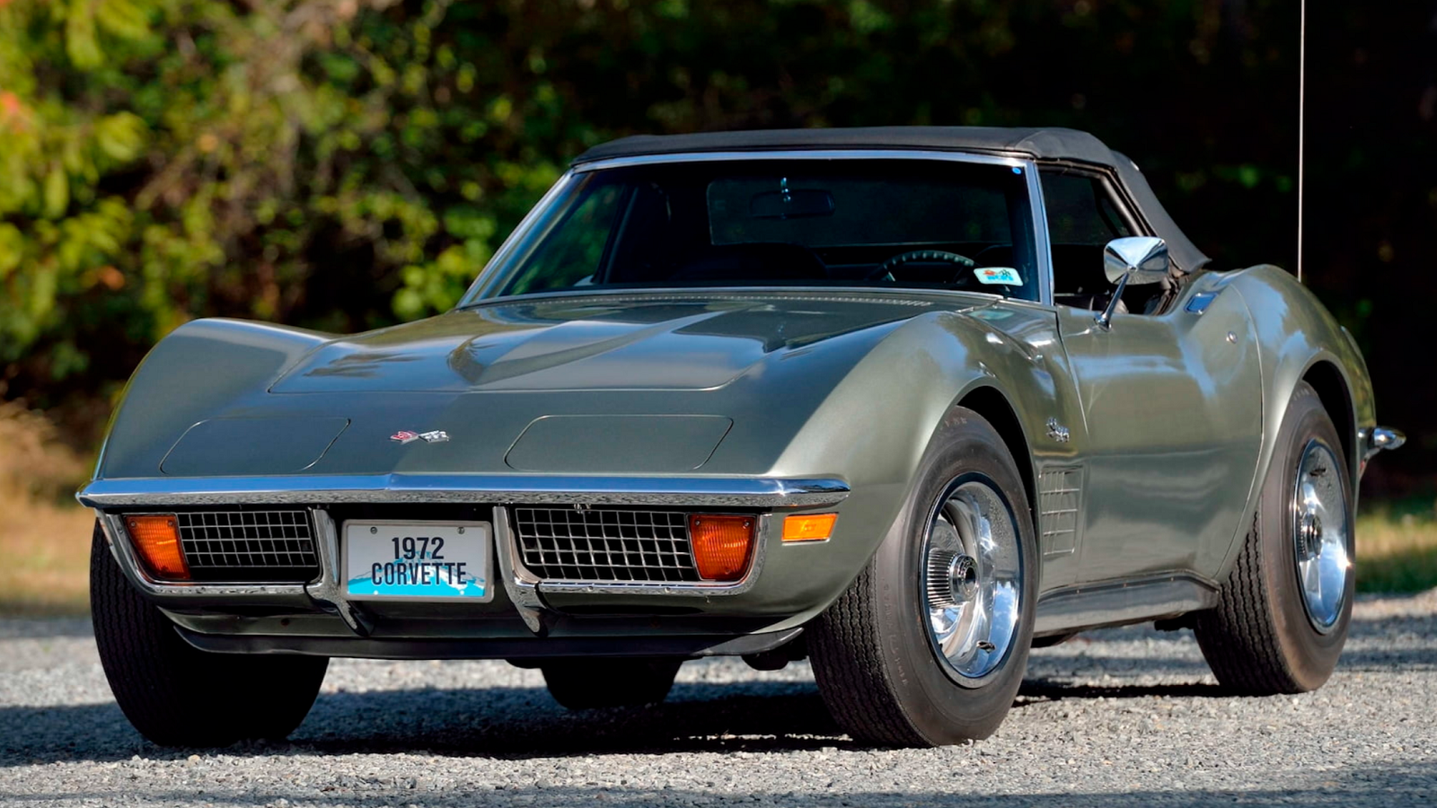 1972 Corvette with 3K Miles Survives the Ills of Time