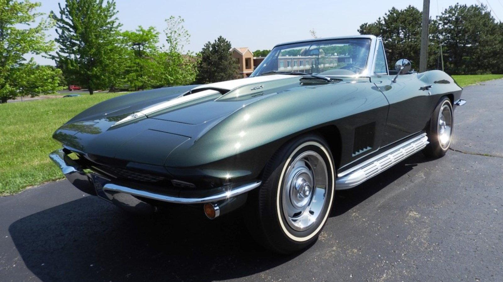1967 Corvette Goodwood Green