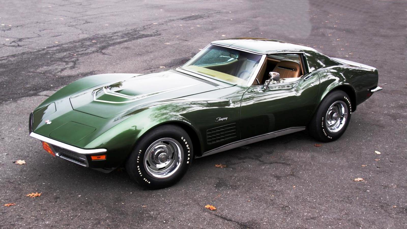 1970 Corvette in Donneybrooke Green