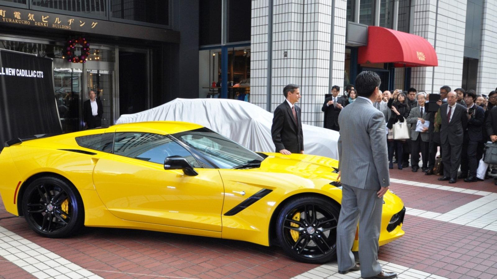 Corvette C7 Launch in Japan
