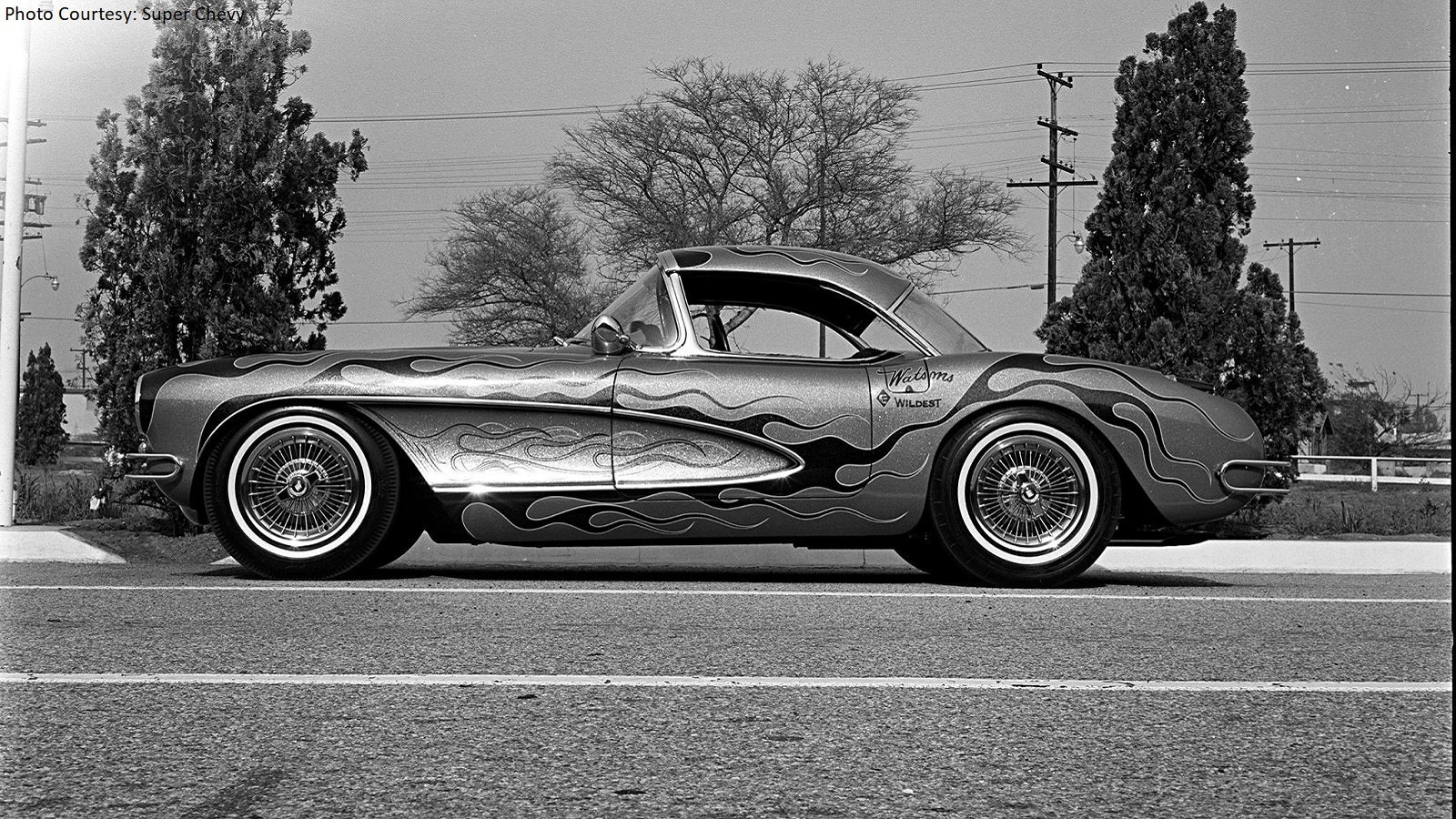 Watson's 1957 Corvette Was Definitely the Wildest